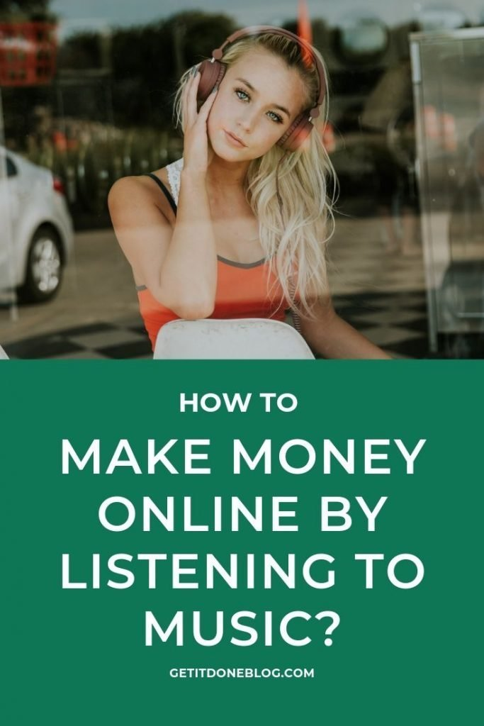 make money online by listening to music