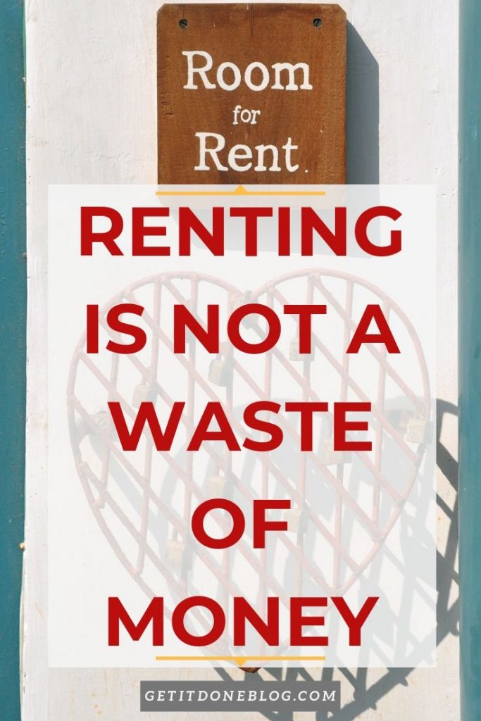 renting is not a waste of money