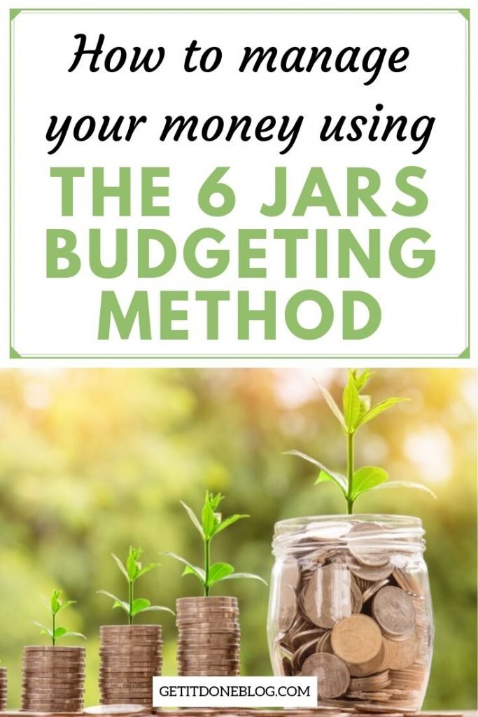 6 Jars Budgeting Method