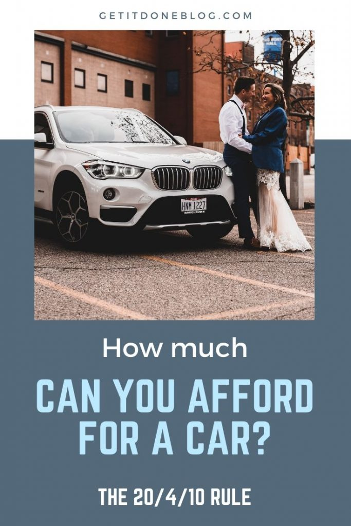 How much can you afford for a car